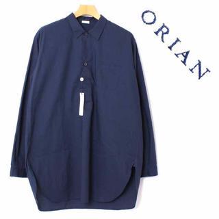 新品 ORIAN プルオーバー チュニック シャツ