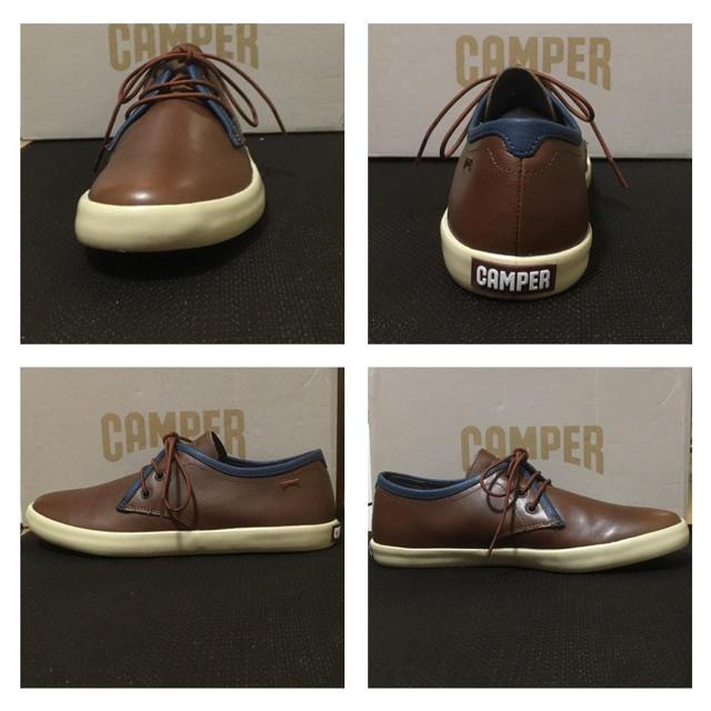 CAMPER(カンペール)の新品 Camper Pursuit パースート レザースニーカー ブラウン メンズの靴/シューズ(スニーカー)の商品写真