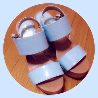 セール♡ブルー♡サンダル(サンダル)