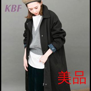 ケービーエフ(KBF)のKBF【WEB限定】ボーイッシュビッグコート ブラック(ロングコート)