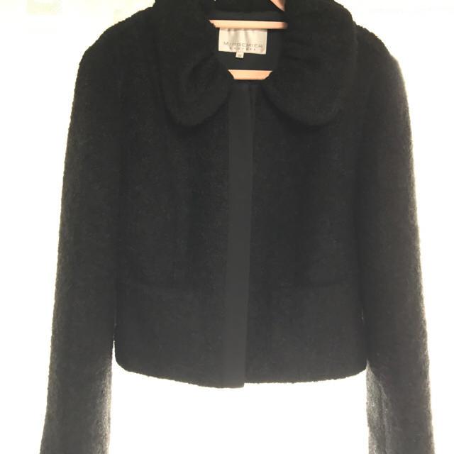 M-premier(エムプルミエ)のお値下げしました❣️Mプルミエ 黒 ショートジャケット 34 レディースのジャケット/アウター(テーラードジャケット)の商品写真