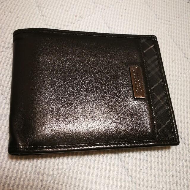 official photos 8701e 5ffe9 バーバリーブラックレーベル二つ折り財布 | フリマアプリ ラクマ