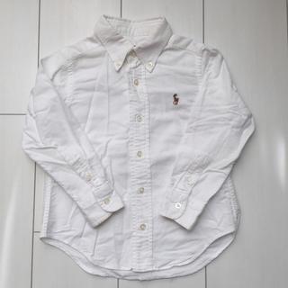ポロラルフローレン(POLO RALPH LAUREN)のpolo ralph ポロ ラルフ kidsキッズ 白 B.Dフォーマル シャツ(ドレス/フォーマル)