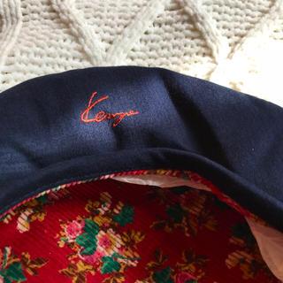 ケンゾー(KENZO)の【タグ付き】KENZO 紺 ベレー帽(ハンチング/ベレー帽)