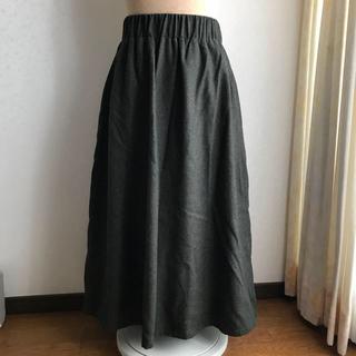 カスタネ(Kastane)のカスタネ♡カーキ  ロングスカート(ロングスカート)