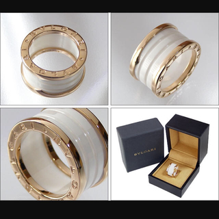 ブルガリ(BVLGARI)のブルガリ ビーゼロワンリング セラミック(リング(指輪))