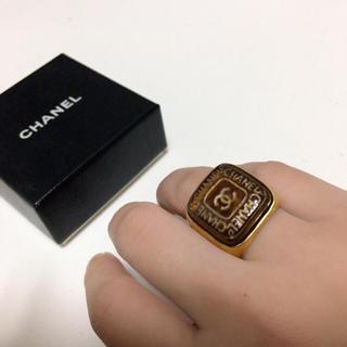 シャネル(CHANEL)の正規品 vintage CHANEL シャネル ゴールド リング 指輪 11号(リング(指輪))
