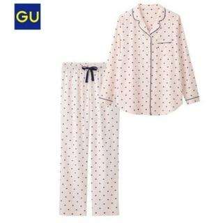 ジーユー(GU)の完売商品♡GUハート柄ルームウェア(パジャマ)