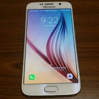 サムスン(SAMSUNG)のSAMSUNG Galaxy S6 SC-05G docomo 中古良品(スマートフォン本体)