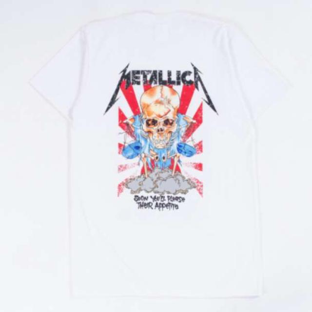 B級品 半袖Tシャツ メタリカ dris 岩ちゃん 三代目着用 L 白 訳あり メンズのトップス(Tシャツ/カットソー(半袖/袖なし))の商品写真