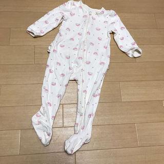ベビーギャップ(babyGAP)のbaby gap ロンパース サイズ 80 足つき(その他)