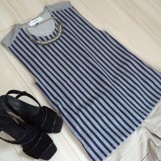 ルシェルブルー(LE CIEL BLEU)の新品ノースリーブトップス♡ルシェルブルー(Tシャツ(半袖/袖なし))