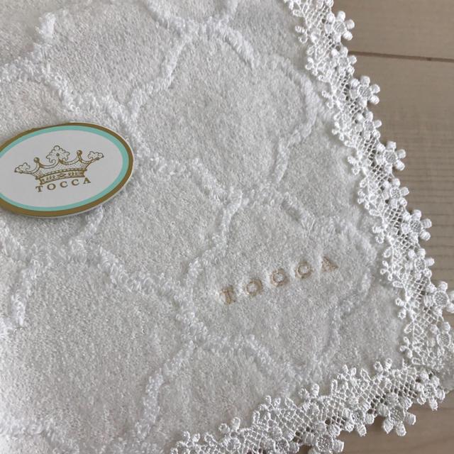 TOCCA(トッカ)のnyanyamo様専用 トッカ タオルハンカチ☆ ホワイト&ミント レディースのファッション小物(ハンカチ)の商品写真