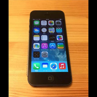 アップル(Apple)のau iPhone 5  売り飛ばし(携帯用ゲーム本体)