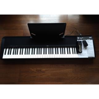 コルグ(KORG)のKORG DIGITAL PIANO B1 BK[ブラック] コルグ電子ピアノ(電子ピアノ)