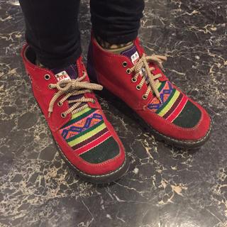 チチカカ(titicaca)のチチカカ★Lサイズ昨年購入 アジアン エスニック シューズ ブーツ(その他)