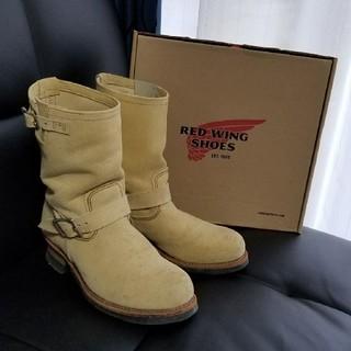 レッドウィング(REDWING)のRED WING レッドウィング スウェード エンジニア ブーツ 28センチ(ブーツ)