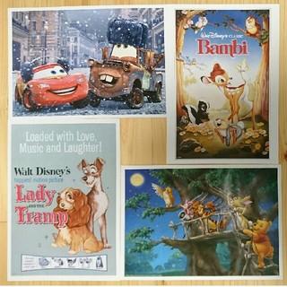 ディズニー(Disney)のmoon様専用 読売新聞 ディズニー キャラクター アートコレクション4枚セット(ポスター)