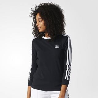 アディダス(adidas)のXOT【新品/即日発送OK】adidas オリジナルス レディース ロンT 黒(Tシャツ(長袖/七分))