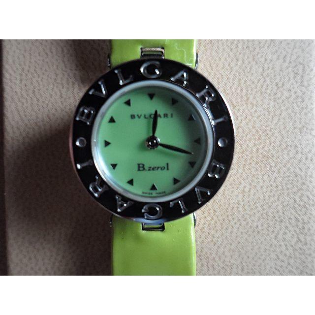 new product 41c01 829bb 美品★BVLGARI B-ZERO1★ブルガリ ビーゼロワン 腕時計★グリーン | フリマアプリ ラクマ