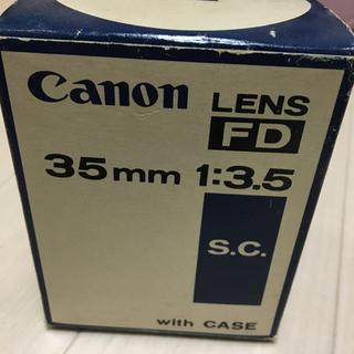 キヤノン(Canon)のCanon レンズ 35mm 1:3.5(フィルムカメラ)