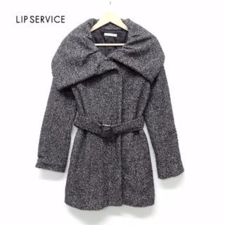 リップサービス(LIP SERVICE)の美品 LIP SERVICE リップサービス ベルト付き中綿ジャケット T01(その他)