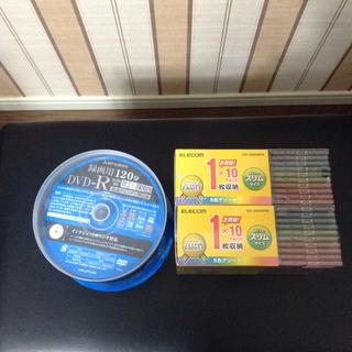 ミツビシ(三菱)の録画用DVD-Rとケース(その他)