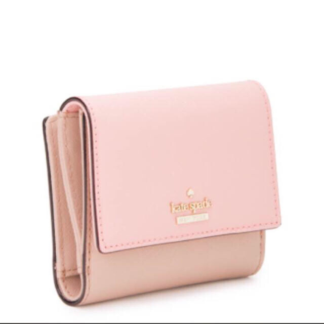 promo code 6b976 a135f ケイトスペード 二つ折り財布 ピンク | フリマアプリ ラクマ