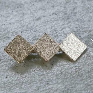 ビューティアンドユースユナイテッドアローズ(BEAUTY&YOUTH UNITED ARROWS)のzozo購入  完売  ダイヤメタルプレートクリップ(ヘアピン)