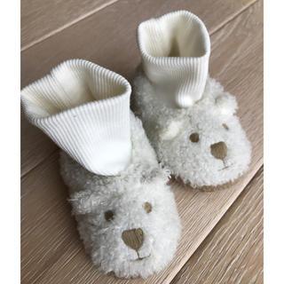 ベビーギャップ(babyGAP)のbabyGAPクマさんブーツ13.5cm(ブーツ)