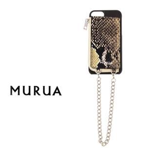 ムルーア(MURUA)のMURUA コインケース付 iPhone6/6S/7 CASE(iPhoneケース)
