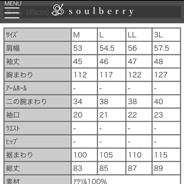 Solberry(ソルベリー)のニットワンピース soulberry 新品 レディースのトップス(ニット/セーター)の商品写真