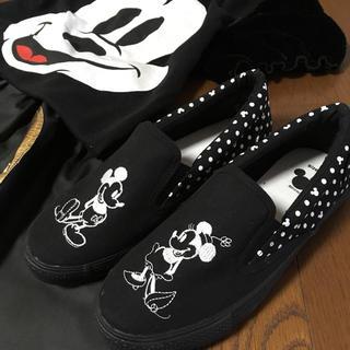 ディズニー(Disney)のミキミニ スリッポン ☆(スリッポン/モカシン)