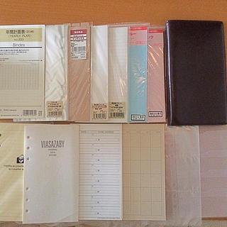 サザビー(SAZABY)のVIASAZABY B6サイズ 6穴 本革手帳(カレンダー/スケジュール)