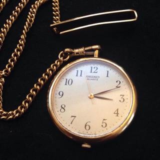 セイコー(SEIKO)のSEIKO 懐中時計 ゴールド ジャンク(その他)