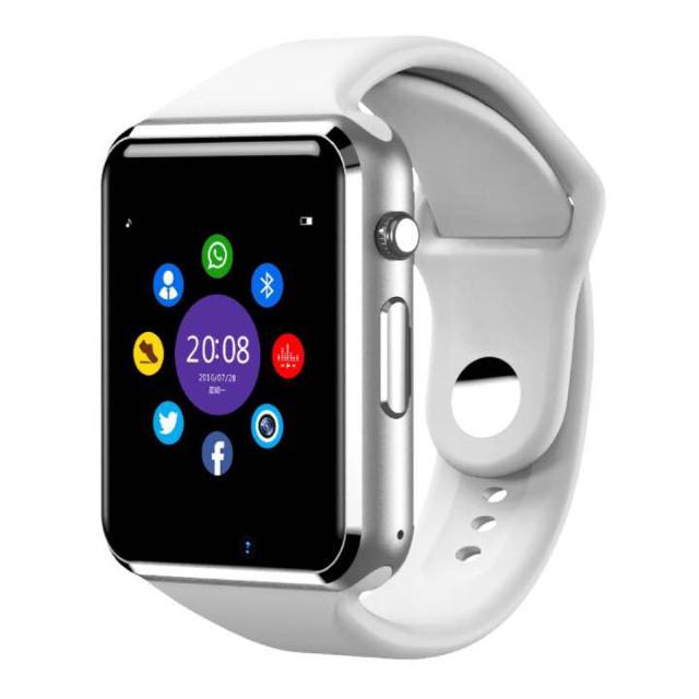 ☆新品 Apple Watch風 スマートウォッチ ホワイト☆男女兼用 メンズの時計(腕時計(デジタル))の商品写真