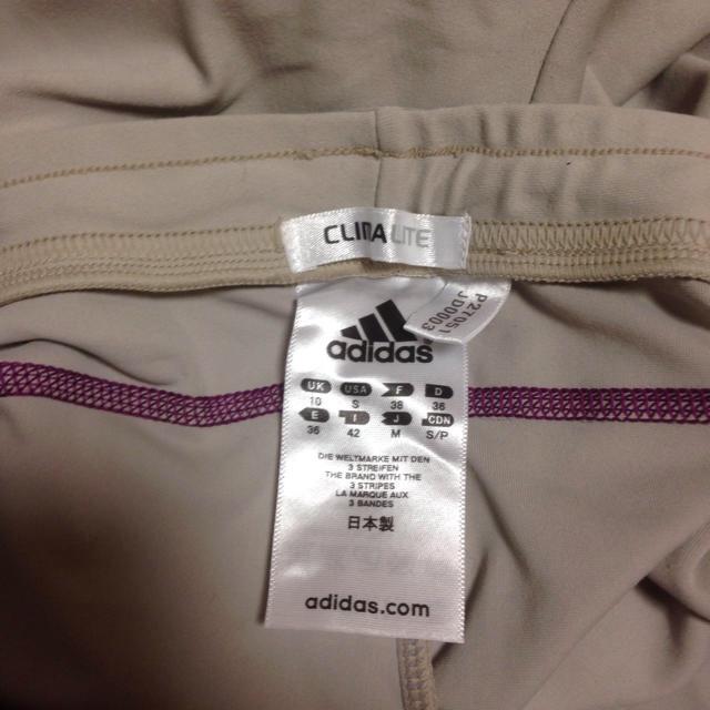 adidas(アディダス)のadidasテニスボール入れ付きスパッツ新品未使用 スポーツ/アウトドアのテニス(ウェア)の商品写真