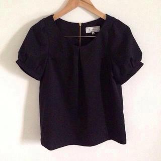 ロペピクニック(Rope' Picnic)のblack blouse*(シャツ/ブラウス(長袖/七分))