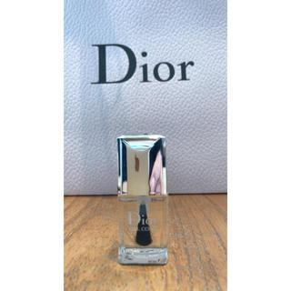 クリスチャンディオール(Christian Dior)の【新品】Dior ディオール ネイル ジェルトップコート(ネイルトップコート/ベースコート)