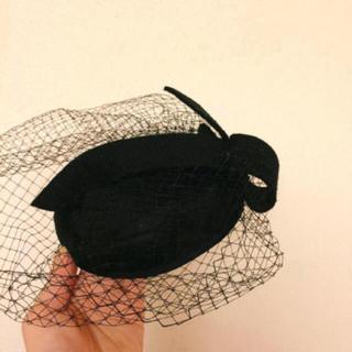 グリモワール(Grimoire)のvintage headdress(ハンチング/ベレー帽)