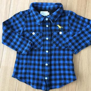 ローズバッド(ROSE BUD)のローズバッドミニ長袖シャツ(Tシャツ/カットソー)