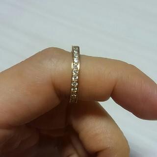 最終値下げ!k18 ピンクゴールドフルエタニティ 9.5号SIクラス 0.5ct(リング(指輪))