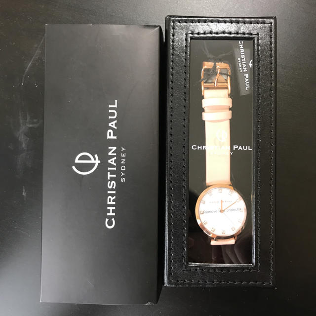 CHRISTIAN PEAU(クリスチャンポー)の【新品未使用】レディース腕時計 レディースのファッション小物(腕時計)の商品写真
