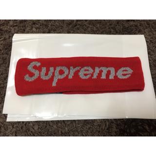 シュプリーム(Supreme)の値下げ中 Supreme ヘアバンド 赤 New Era Headband(キャップ)