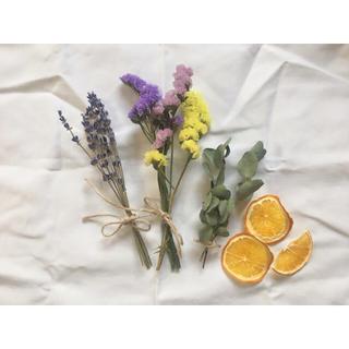 再販❁︎4種類ドライフラワー花材アソート❁︎(ドライフラワー)