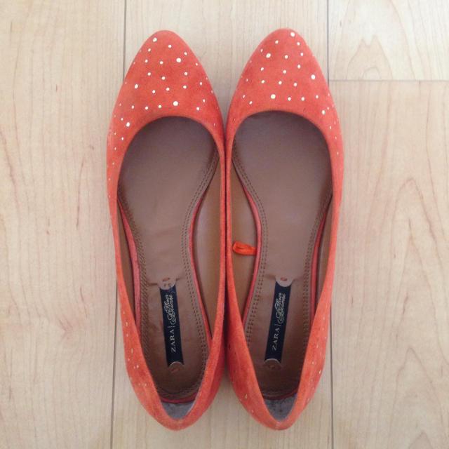 ZARA(ザラ)のフラットパンプス☆ZARA レディースの靴/シューズ(ハイヒール/パンプス)の商品写真