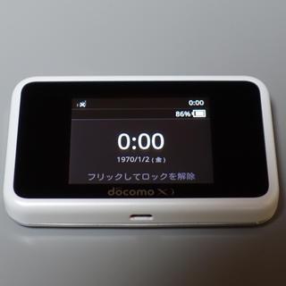 DoCoMo モバイルルーター HW-02G 格安SIM使用可(その他)