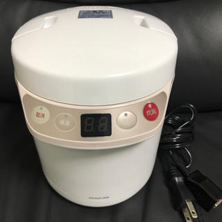 コイズミ(KOIZUMI)のKOIZUMI コイズミ ライスクッカーミニ 0.5~1.5合 KSC-1510(炊飯器)