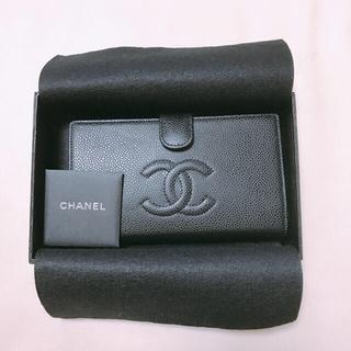 シャネル(CHANEL)のCHANEL シャネル 新品 キャビアスキン 長財布(財布)