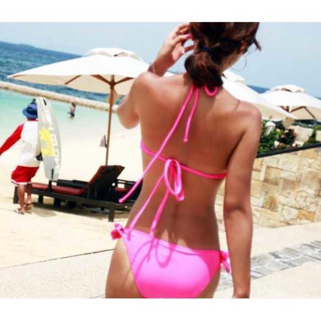 S2 お洒落★ ピンク 水着 M レディースの水着/浴衣(水着)の商品写真